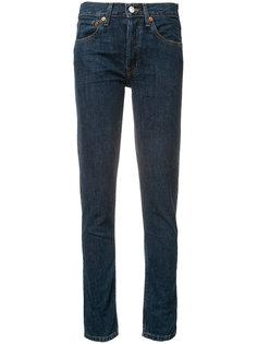 классические джинсы-скинни Re/Done