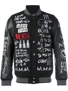 вышитая куртка-бомбер Haculla