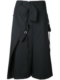 укороченные брюки Serge  Max Tan