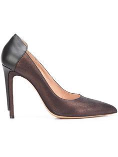 туфли с многослойным каблуком Maison Margiela