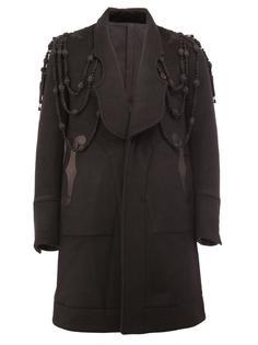 пальто с панельным дизайном и вышивкой Takahiromiyashita The Soloist