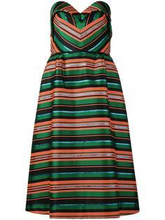 полосатое платье Delpozo