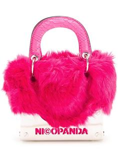 пушистый клатч Nicopanda