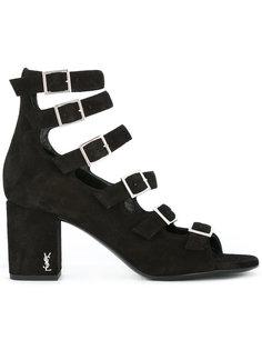 туфли с ремешками Babies 90  Saint Laurent