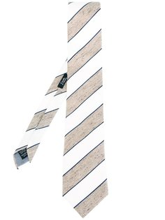 галстук с узором в полоску Fashion Clinic Timeless