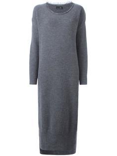 трикотажное платье с круглым вырезом Ys Y`s