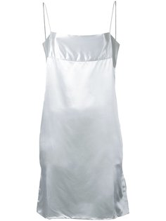 платье шифт на бретелях Christopher Esber