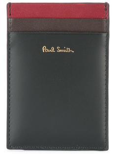 кошелек для карточек в стиле колор-блок Paul Smith