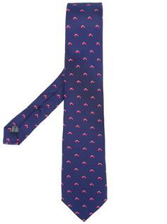 галстук с принтом машин Fefè