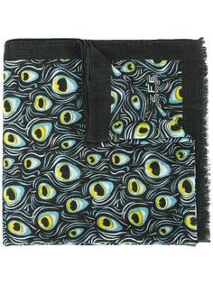 шарф с принтом павлинов Fefè
