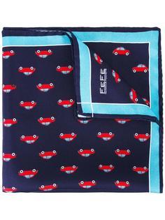 нагрудный платок с принтом машин Fefè