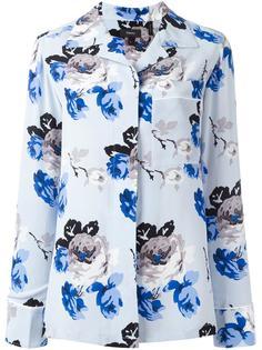 рубашка с цветочным узором Theory