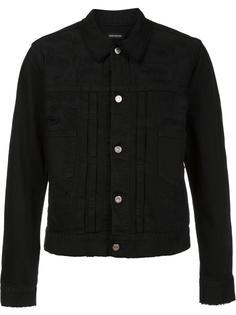 джинсовая куртка с потертой отделкой Christian Dada