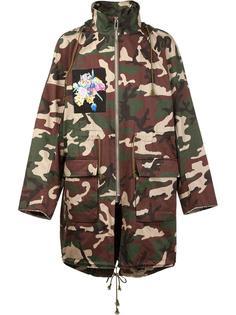 камуфляжное пальто Christian Dada X Nobuyoshi Araki Christian Dada