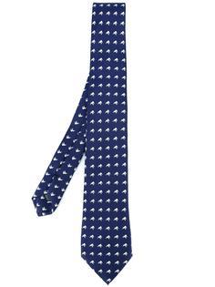 галстук с узором слонов Fefè
