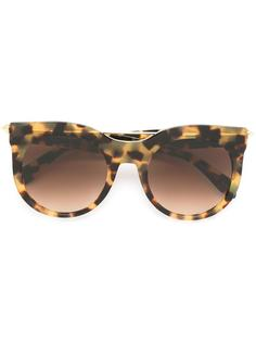 солнцезащитные очки в круглой оправе Alexander Mcqueen Eyewear