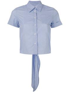 полосатая рубашка с короткими рукавами Mm6 Maison Margiela
