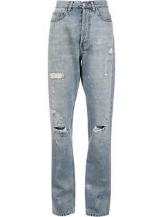 джинсы бойфренды с потертой отделкой Faith Connexion