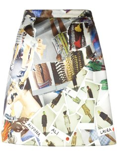 А-образная юбка мини Christopher Kane