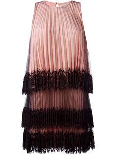 короткое плиссированное платье Christopher Kane
