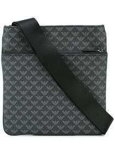 плоская сумка на плечо  Emporio Armani