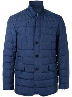 стеганая куртка с застежкой на пуговицы Kent & Curwen