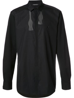 рубашка с принтом галстука-бабочки Neil Barrett