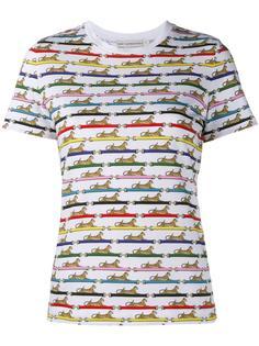 футболка Iven с узором из леопардов Mary Katrantzou