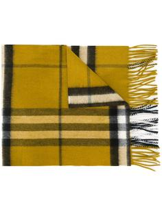 кашемировый шарф в клетку Burberry