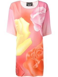 платье-футболка с принтом Boutique Moschino
