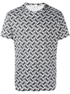 футболка с принтом Salvatore Ferragamo