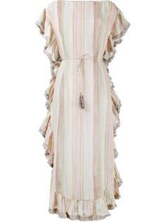 платье-кафтан Tropicale в полоску Zimmermann