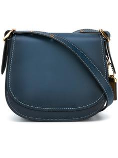 сумка на плечо с декоративной строчкой Coach
