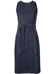джинсовое платье с поясом Tomas Maier