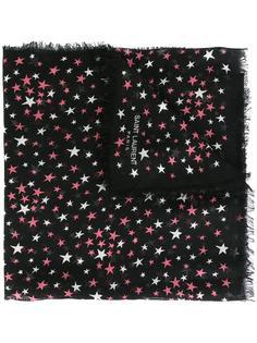 большой шарф с рисунком Étoiles Saint Laurent