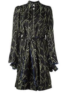 платье с принтом ветвей Proenza Schouler