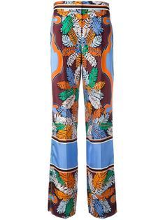 широкие брюки с узором Emilio Pucci