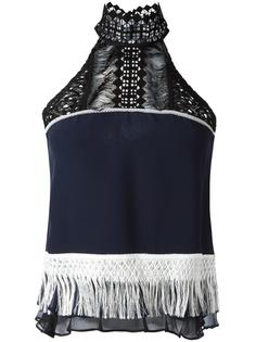 блузка с бахромой Jonathan Simkhai