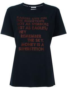 футболка с принтом поэмы Eagles Each X Other