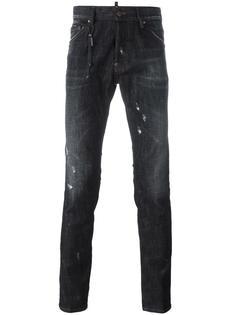 джинсы с потертой отделкой Cool Guy Dsquared2