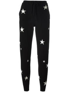 спортивные брюки с принтом звезд Chinti & Parker