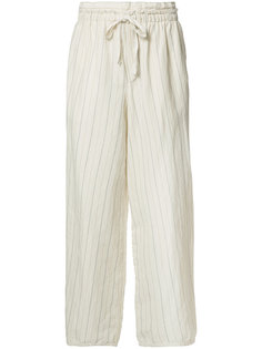 брюки свободного кроя Loewe