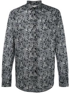 рубашка с узором пейсли Saint Laurent