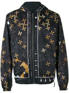 куртка с принтом Baroque Medusa Versace