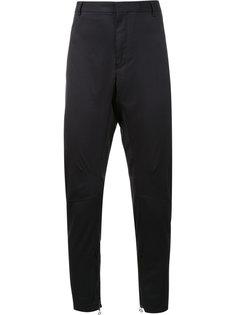 байкерские брюки прямого кроя Lanvin