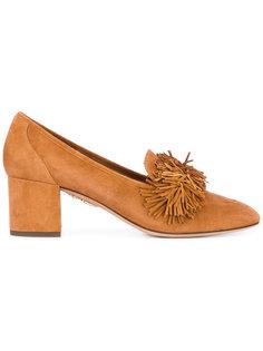туфли с бахромой Aquazzura