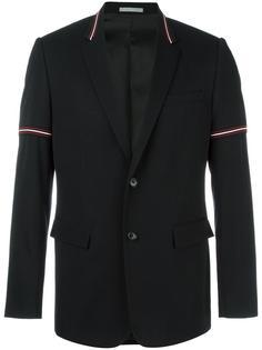 пиджак с полосатой окантовкой Dior Homme