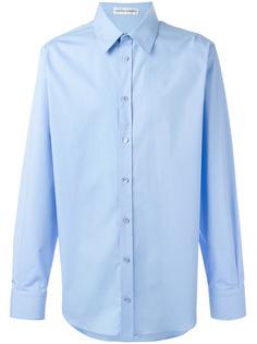 рубашка с заостренным воротником Alexander McQueen