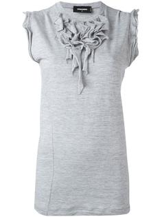блузка с рюшами Dsquared2