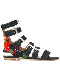 джинсовые сандалии Nina  Laurence Dacade